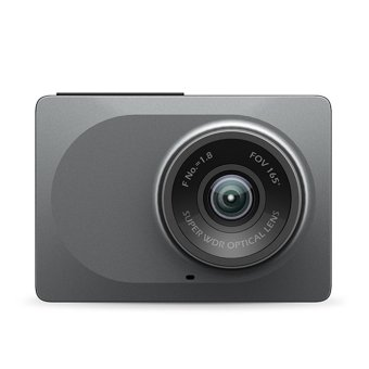 Xiaomi Yi Smart Dashcam Night Vision FHD 1080P Camera Car DVR (Gray)