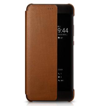 Xoomz Luxury Genuine Leather Case for Huawei P10 Plus Phone CasesSmart Flip Cover Wallet Capa Coque - intl - 2