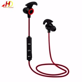 XT1 Bluetooth 4.1 Stereo Wireless In-Ear Sports Earphone With Microphone (Red)