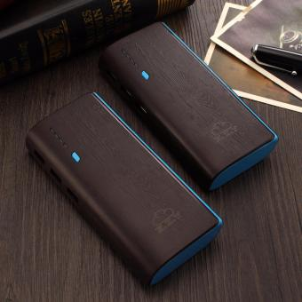XZY 1041 20000mAh Power Bank Double USB (Black/Blue) BUY1 TAKE1