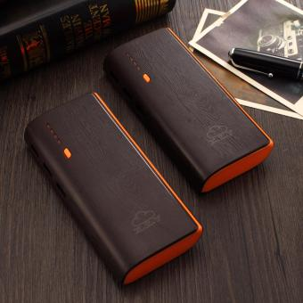 XZY 1041 20000mAh Power Bank Double USB (Black/Orange) BUY1 TAKE1
