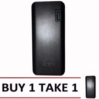 XZY 1043 20000mAh Power Bank Double USB (Black) BUY1 TAKE1