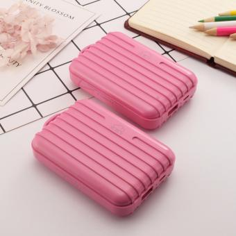 XZY 1044 20000mAH Single USB Port Power Bank (Pink) Buy1 Take1