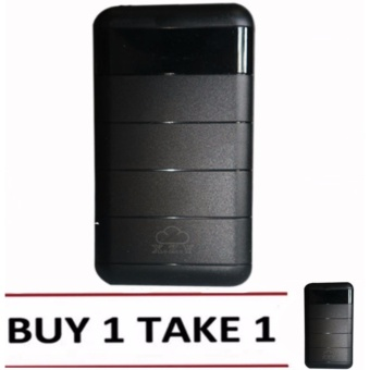 XZY 1045 20000mAh Power Bank Double USB (Black) Buy1 Take1