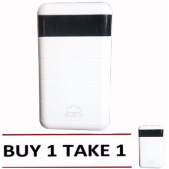 XZY 1045 20000mAh Power Bank Double USB (White) Buy1 Take1