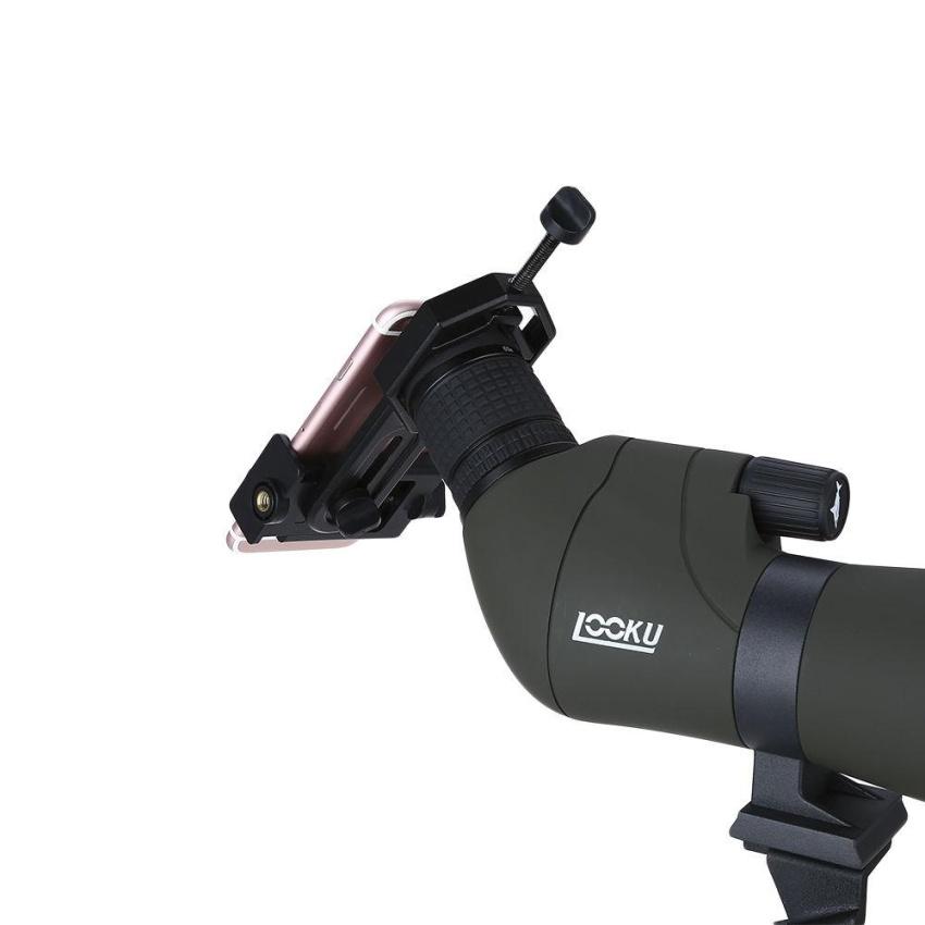 YACGroup Visionking 20-60x80 Spotting Scope Telescope ZoomPrecision MAK Bak4 Waterproof Phone Holder For Hunting ...
