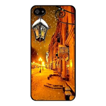 Y&M Christmas Eve BlackBerry Z10 Phone Case (Multicolor)