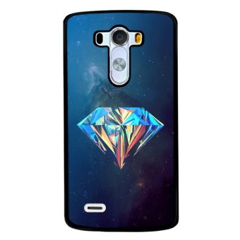 Y&M Colorful Diamond Lg G3 Phone Case (Multicolor)