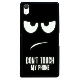 Y&M Don't Touch My Phone Phone Sony Xperia Z2 Phone Shells(Multicolor)