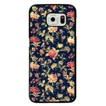 Y&M Elegant Flowers Phone Case for Samsung Galaxy S6 Edge (Multicolor)