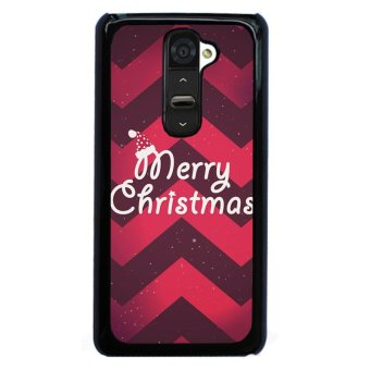 Y&M Merry Christmas Cover for LG G2 (Black)