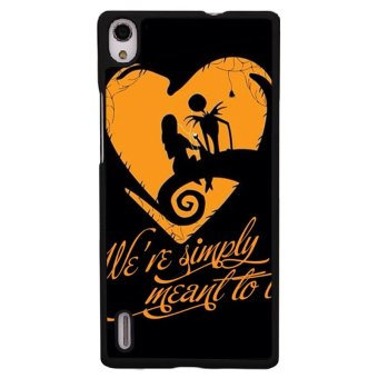 Y&M Nightmare Before Christma Phone Case for Huawei P7 (Multicolor)