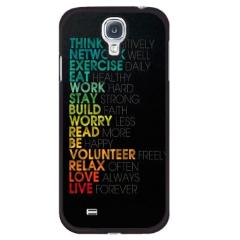 Y&M Simple Letter Samsung Galaxy Mega 6.3 Phone Cover (Multicolor)