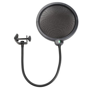 YBC Mic Double Layer Pop Filter for Studio Microphone Recording