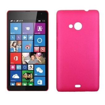 YBC New Pudding Scrub Case Protective Cover For Microsoft Nokia Lumia 535 - intl