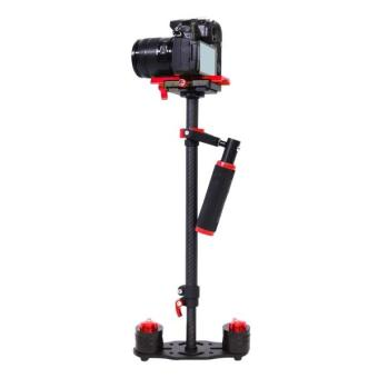 YELANGU S60T Professional 38.5-61cm Maximum Burden 0.5-3kg CarbonFibre Handheld Stabilizer for DSLR & DV Digital Video &other Cameras (Red) - intl Price Philippines