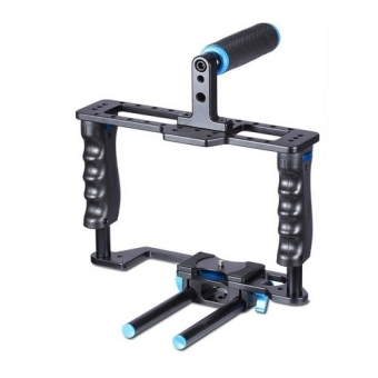 YELANGU YLG0107E-A Protective DSLR Camera Cage Stabilizer / TopHandle Set Price Philippines