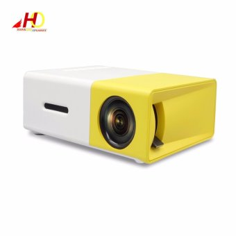 YG300 YG-300 Portable Projector LCD Mini Portable 400 - 600LM 1080PLED Projector Home Cinema Theater USB SD HDMI