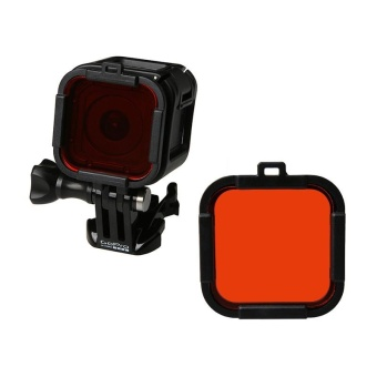 Yicoe 3 colors For Go pro Hero 4 Session Lens UV Filter, UV DivingFilter for Gopro Hero 4s hero 4 action camera Accessories - intl Price Philippines