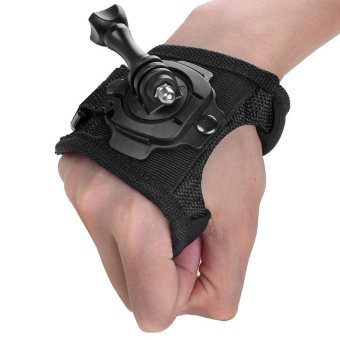 YICOE 360 Degree Rotation Glove Wrist Strap Belt Mount Band GlovesStrip for Go pro 5 4 3 Xiaomi Yi 4k SJCAM SJ4000 EKEN H9 ActionSport Camera Accessories Price Philippines