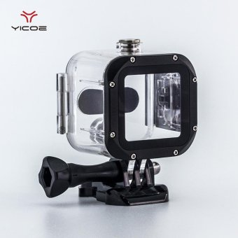 YICOE Diving Underwater 45M Waterproof Housing Case Cover Shellhouse For GoPro Hero 4S Session Action Sport Camera Accessories -intl