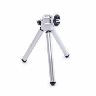 YICOE Mini 150-200mm Aluminum Silver Folding Tripod StandAdjustable Camera Legs Mount For Gopro 5 4 3 SJCAM EKEN XIAOMI YIAction Sport Camera Accessories - 2