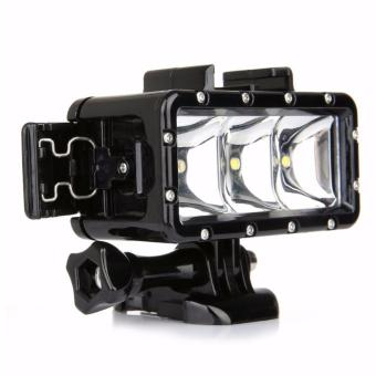 YICOE Underwater Light Diving Waterproof LED Video Spot Lamp for Gopro 5 4 3 Xiaomi Yi 4k SJCAM SJ4000 EKEN H9 GoPro Action SportCamera Accessories Price Philippines