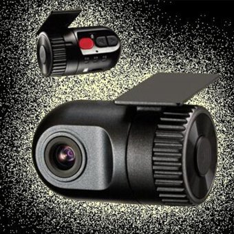 Yika HD Mini Car DVR Video Recorder Hidden Dash Cam Vehicle SpyCamera Night Vision - intl - 4