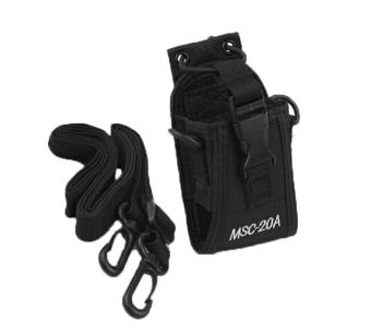 yoggus Pouch Bag Holster Case For GPS PMR446 Radio TransceiverWalkie Talkie(Black)