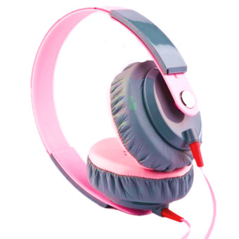 Yongle EP12 Over-the-ear Headphone (Pink)
