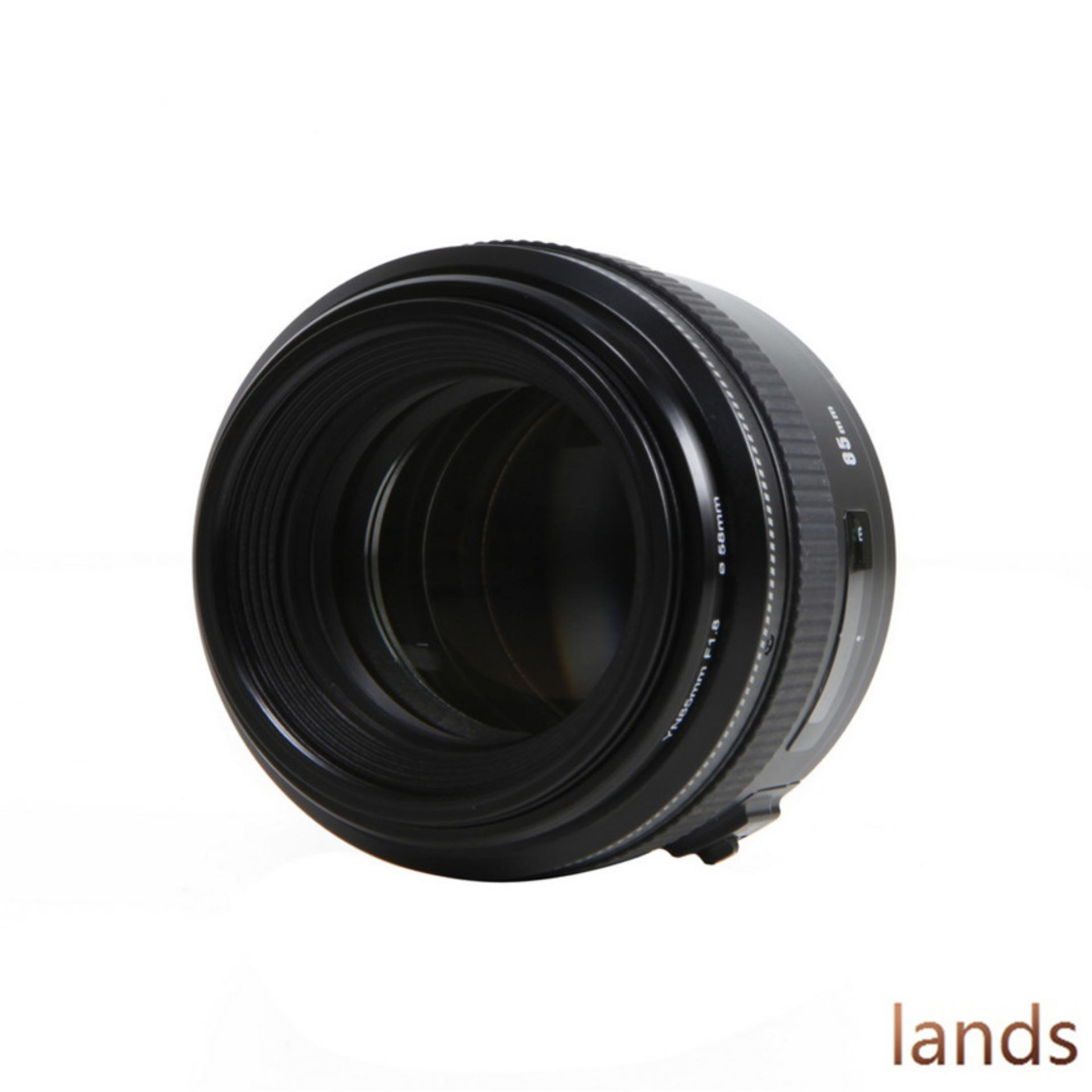 Philippines Yongnuo 85mm F 18 Yn85 Af Mf Medium Telephoto Prime Nikon F18d Lens For Canoneos Camera