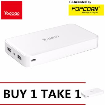 Yoobao M20 20000mAh Master Power Bank (White)Buy 1 Take 1