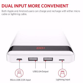 YOOBAO P20000L Ultra Thin 20000mAh Power Bank (White) - 2