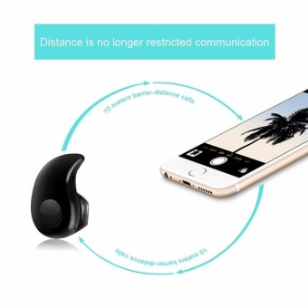 Young Young Star Mini Wireless Bluetooth 4.0 In-Ear Stereo HeadsetHeadphone for Smart Phones Earphone Earpiece S530 - intl - 4