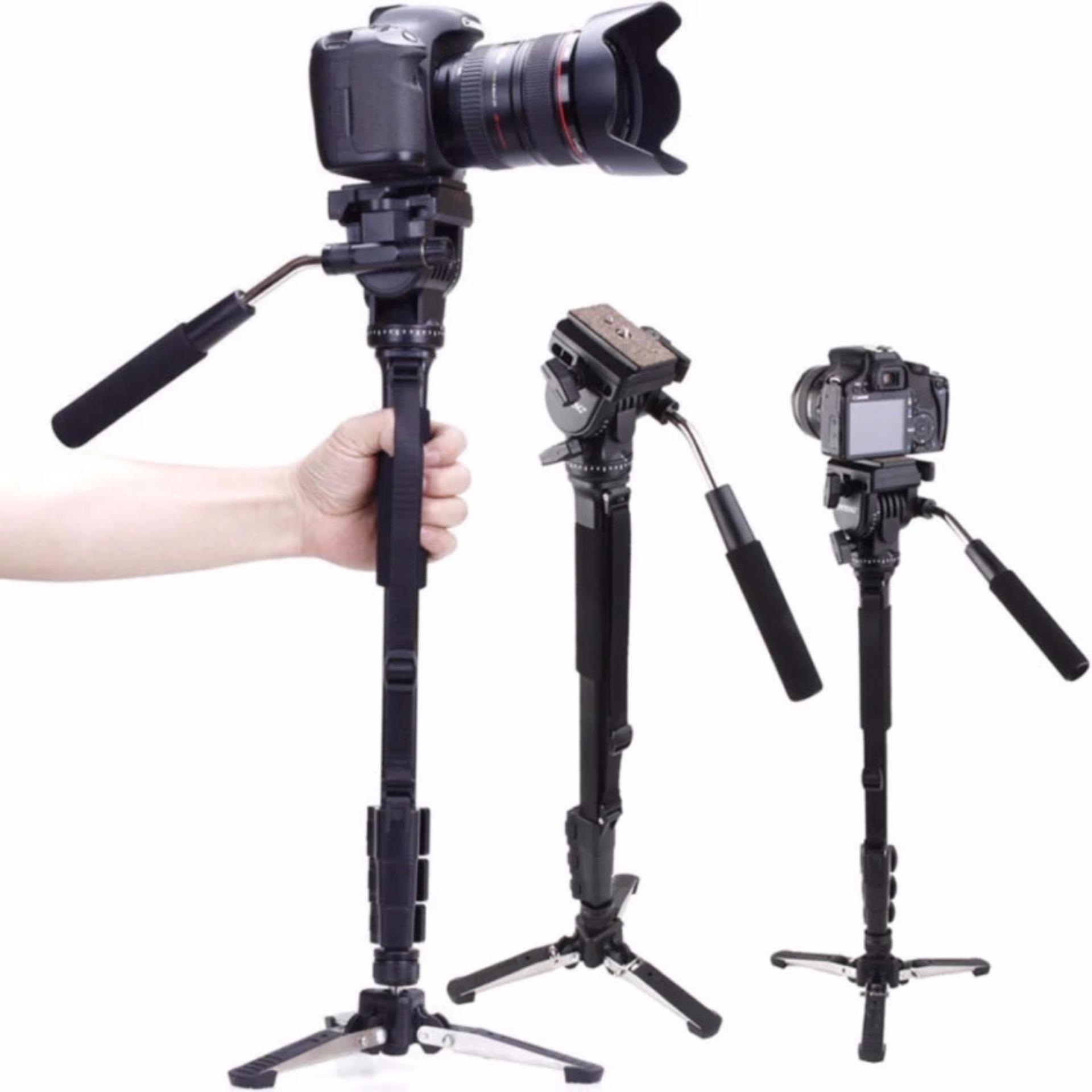 Philippines Yunteng Vct 288 Camera Monopod Unipod Holder Fluid Pan Tripod Yt 880 Head For Canon Nikon Sony