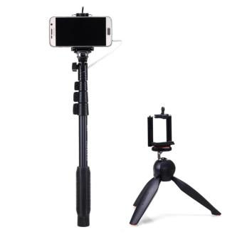 Yunteng YT-1188 Wired Selfie Stick Monopod with YT-228 Mini TripodMount for Digital Camera & smart phone