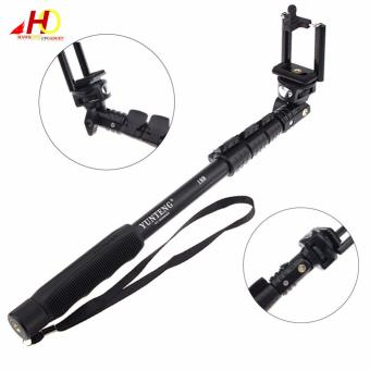 YunTeng YT-188 Universal Monopod for Mobile Phones and Sports Cameras (Black) with FREE Action Camera Floater (Black) - 2