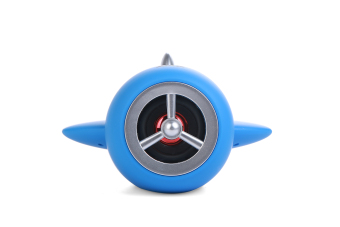 Zeus ZR-330 Aircraft Portable Bluetooth Speaker With Build-in Mic/FM Radio/Aux Mode/TF Slot/Android & USB Port (Blue)