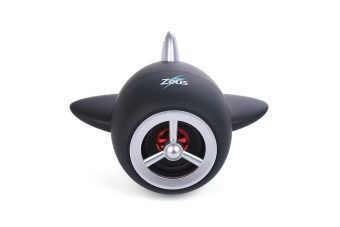 Zeus ZR-330 Aircraft Portable Bluetooth Speaker With Build-in Mic/FM Radio/Aux Mode/TF Slot/Android & USB Port (Black)