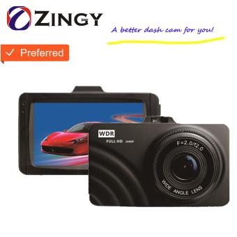 Zingy F3 Dash Cam Car DVR Blackbox 3 inch TFT Full HD 1080P