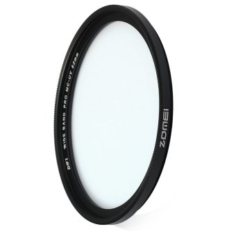 Zomei 52mm Slim MCUV Multi-coated Filter Lens Ultra-violetProtector with Multi-resistant Coating (Black) - intl Price Philippines