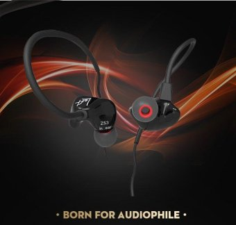 ZS3 3.5mm in-ear Earphone Headphone Bass Quality HIFI HeadsetEarbuds With Mic - intl