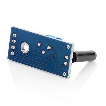 ZUNCLE High Sensitivity Alarm Vibration Sensor Module(Blue + Black) - picture 2