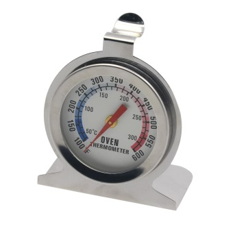 0-300 Celsius or 100-600 Fahrenheit Stainless Steel ConstructionDial Oven Thermometer Temperature Gauge