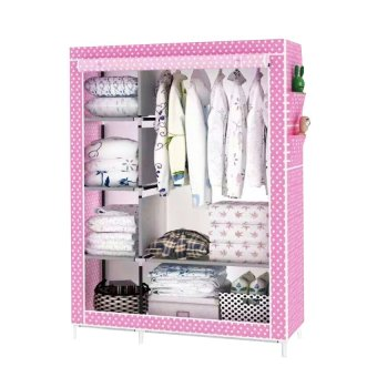 001 Fashion Wardrobe Closet Polka Dot Pink