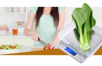 0.01oz/0.1gram 2000g Precise Kitchen Scale Small Digital Electronic Weighing Scale for Baking food and Jewelry - 4