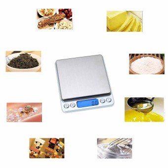 0.01oz/0.1gram 2000g Precise Kitchen Scale Small Digital Electronic Weighing Scale for Baking food and Jewelry - 5