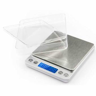 0.01oz/0.1gram 2000g Precise Kitchen Scale Small Digital Electronic Weighing Scale for Baking food and Jewelry