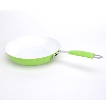0156 Ceramic 26cm Pan - Green