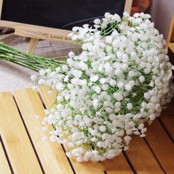 1 Head Baby S Breath Gypsophila Silk Flower Party Wedding Homedecor Intl